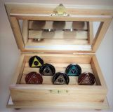 Handmade 12 Coin Display Cabinet