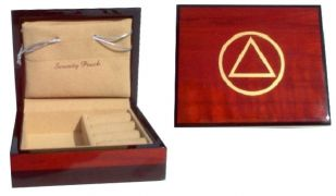 AA Teakwood Jewelry Box