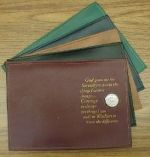 BASIC TEXT OR ''It Works, How and Why'' Cover-Serenity Prayer & Holder