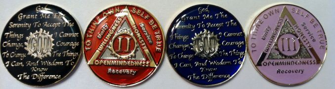 color AA Coins