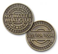 Bronze No Matter What Club Coin